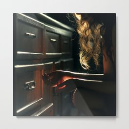 Light and Drawers Metal Print