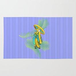 tropical geisha Rug