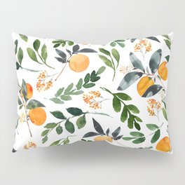 Orange Grove Pillow Sham