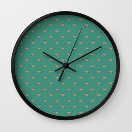 Jerseys // Green Sprinkles Wall Clock