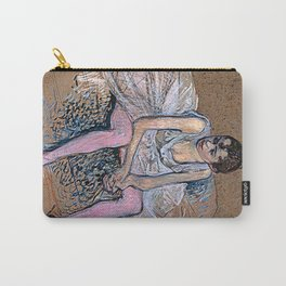 Dancer in Pink Tights Carry-All Pouch