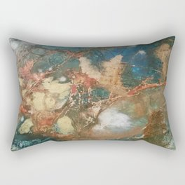Copper Splash Rectangular Pillow
