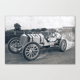 Race car Canvas Print