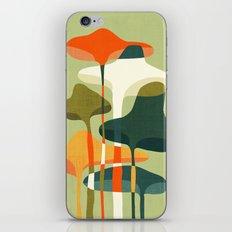 Little mushroom iPhone & iPod Skin