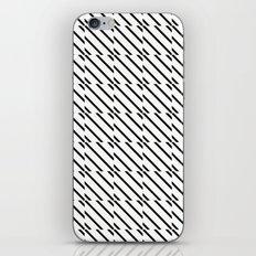 IJzerman Black & White Pattern iPhone & iPod Skin