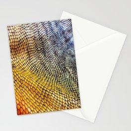 Iguana Skin Stationery Cards
