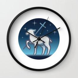 Lamb of God Wall Clock