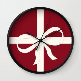 Christmas Present Wall Clock