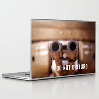 welcome Laptop & iPad Skins featuring Welcome by digital2real