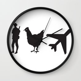 Swimming Lessons Wall Clock