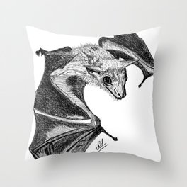 Baby bat Throw Pillow