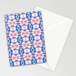 patch work of a shirt Stationery Cards