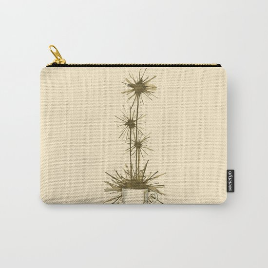 Midnight Flower Carry-All Pouch