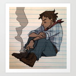 Jesse, but younger Art Print