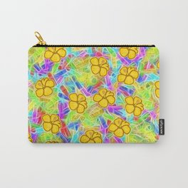 Hawaiian Yellow Flowers Carry-All Pouch