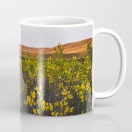 Fall in Faraasen Park, Eastern Montana Coffee Mug