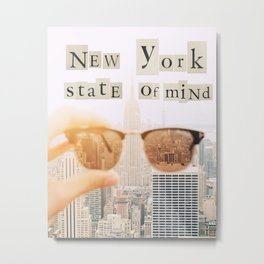New York State of Mind Metal Print