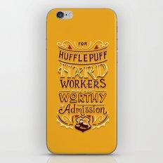 Hard Workers iPhone & iPod Skin