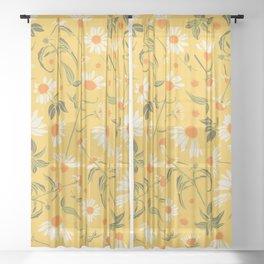 Daisy Days Sheer Curtain