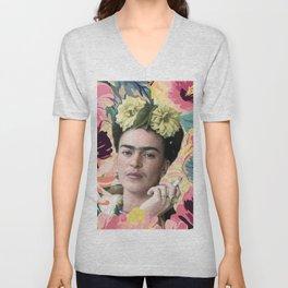 Frida Kahlo VI Unisex V-Neck