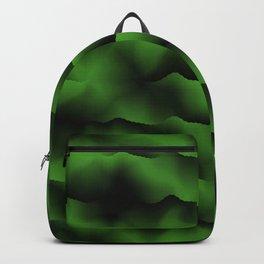 Emerald Green Waves Backpack