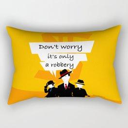 Robbery Rectangular Pillow