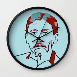 Marcel Proust Wall Clock