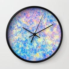 Watercolor Paisley Wall Clock