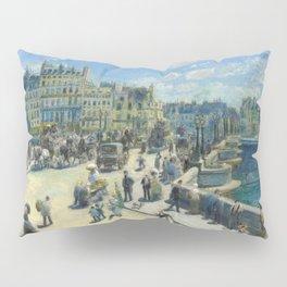 Renoir - Pont Neuf, Paris, 1872 Pillow Sham