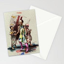 "African+British ""Pancake day"" Stationery Cards"