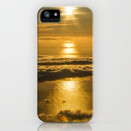 sea sunrise iPhone Case