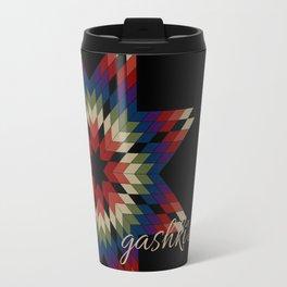 Gashki'ewizi (Black) Travel Mug