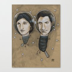 Outer Face Canvas Print