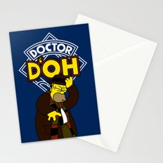 Doctor D'oh Stationery Cards