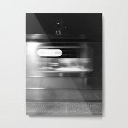 The 7 Train Metal Print