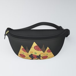 Hiking on a pizza mountain Fanny Pack