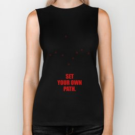 Lab No. 4- Set your own path ! Business Quotes Poster Biker Tank