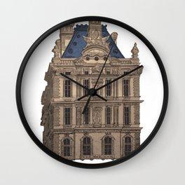 Louvre Palace Wall Clock