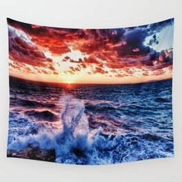 SuNset Waters Wall Tapestry
