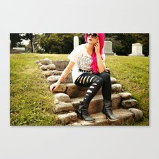 Devil Gonna Follow Canvas Print