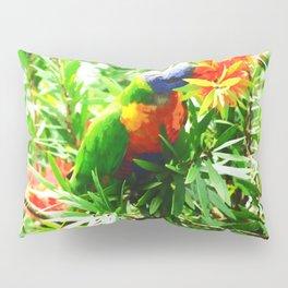 A Bird in the Bush Pillow Sham