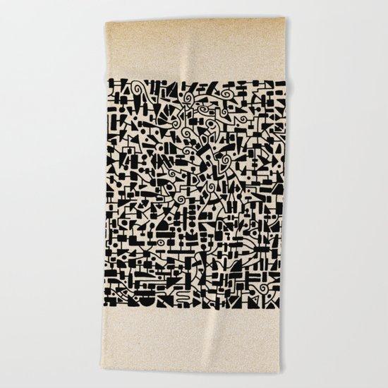 - micro - Beach Towel