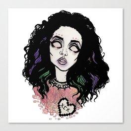 Nuclear Lover -Charli XCX Canvas Print