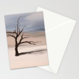 Alone Tree Stationery Cards