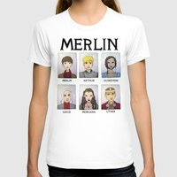 merlin T-shirts featuring MERLIN by Space Bat designs