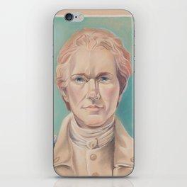 Hamilton in Uniform iPhone Skin