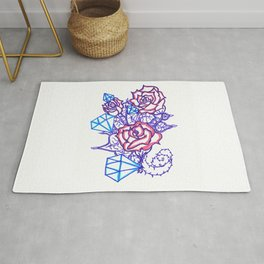 51. Women's love - Dimond and Rose  Rug