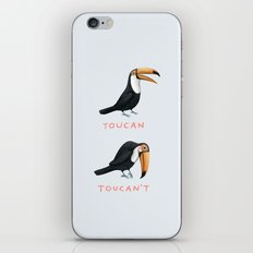 Toucan Toucan't iPhone Skin