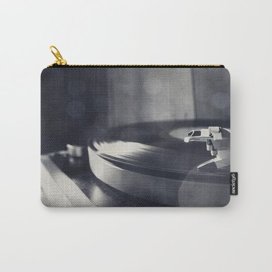 from time to time i like listening to an old record Carry-All Pouch