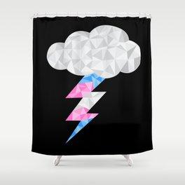 Transgender Storm Cloud Shower Curtain